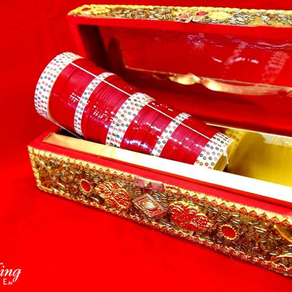 wedding-chura-red-cream-bangles-online